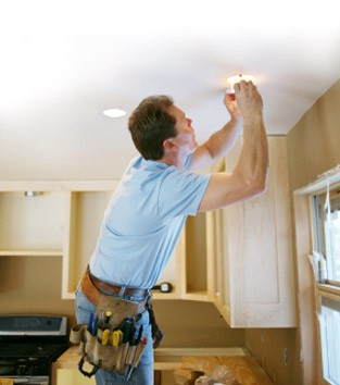 Household electrical services from Loveridges